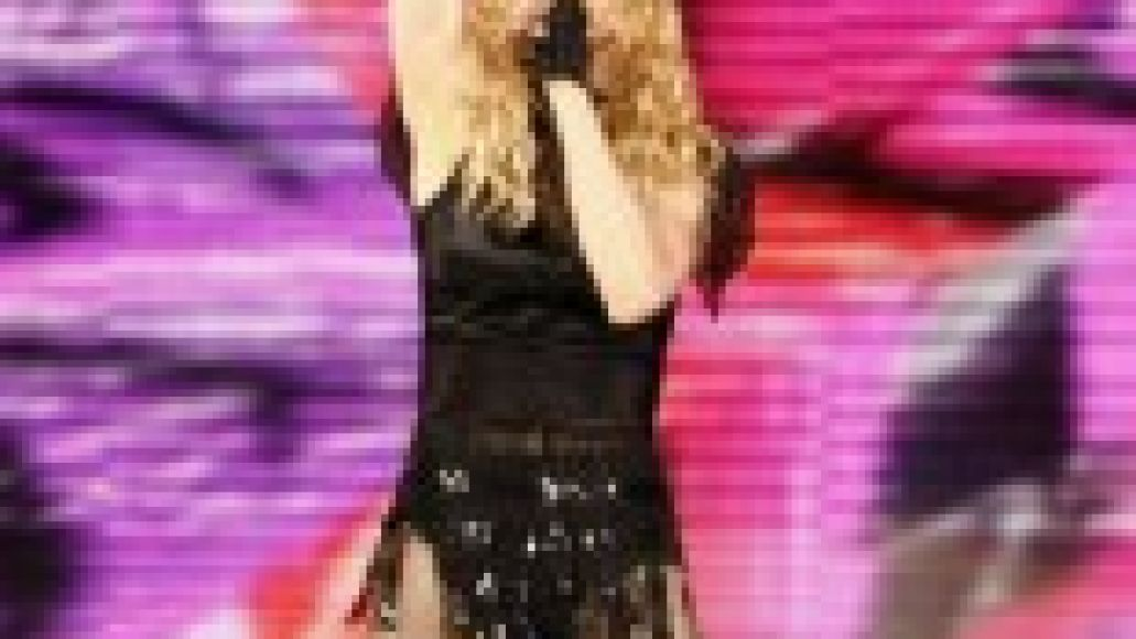 madonna stickysweet1 155x300 Madonnas on fire at the United Center (10/26)