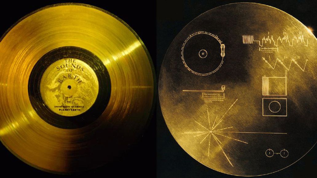 voyager records Audio Archaeology: The Voyager Golden Record (1977)