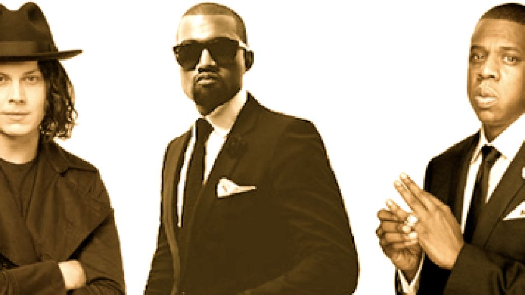 jack kanye jay z And the legend of Jay Z and Jack Whites collaboration now features Kanye West