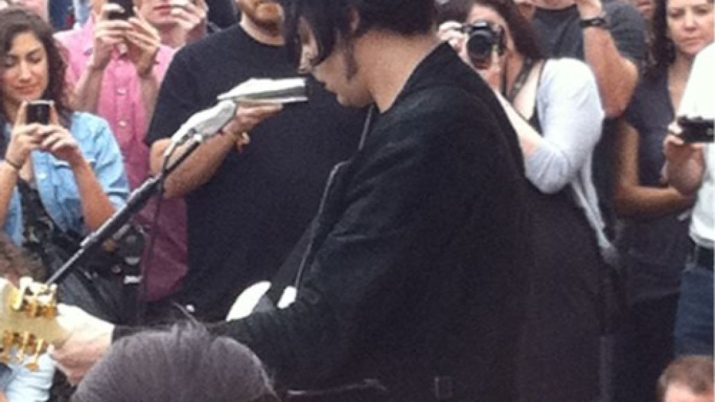 jack white CoS at SXSW 2011: Duran Duran, QOTSA, Conan, Jack White...