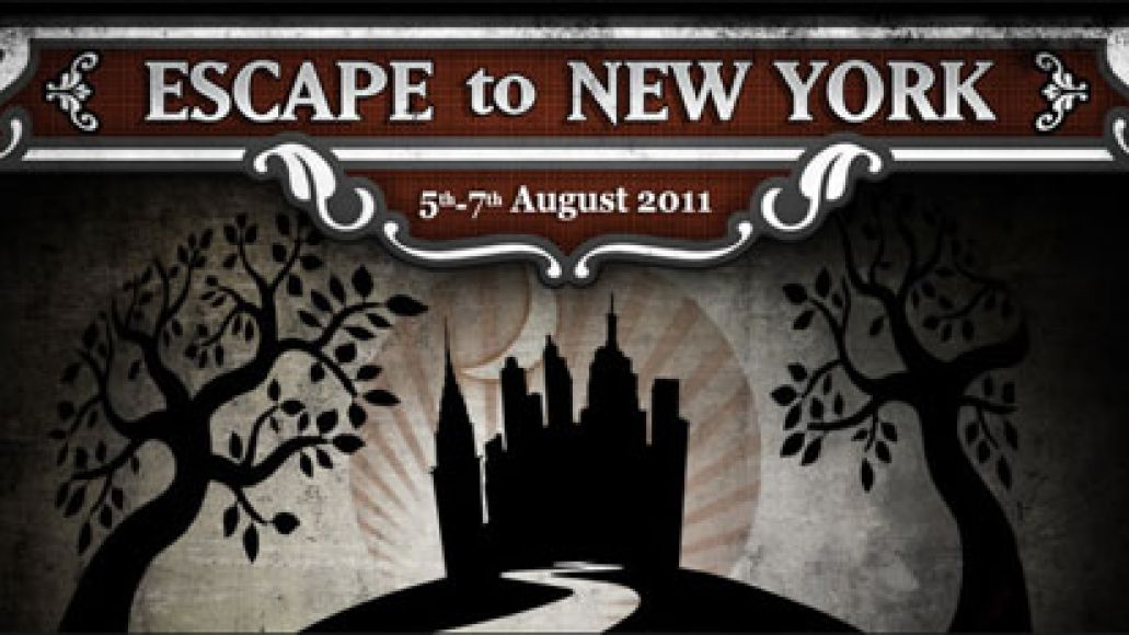 escapetony Patti Smith, Edward Sharpe head inaugural Escape to New York festival