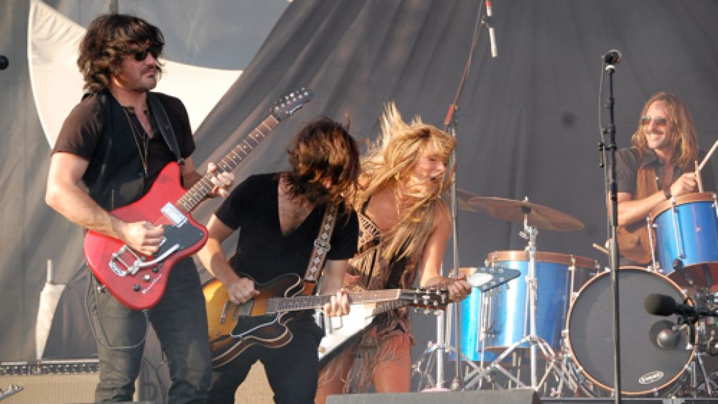 grace potter Festival Review: CoS at Wakarusa 2011