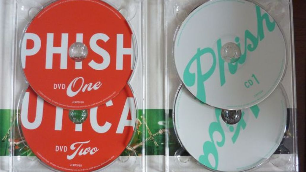 utica5 Whats in the Box!?: Phish   Live in Utica DVD/CD Box Set