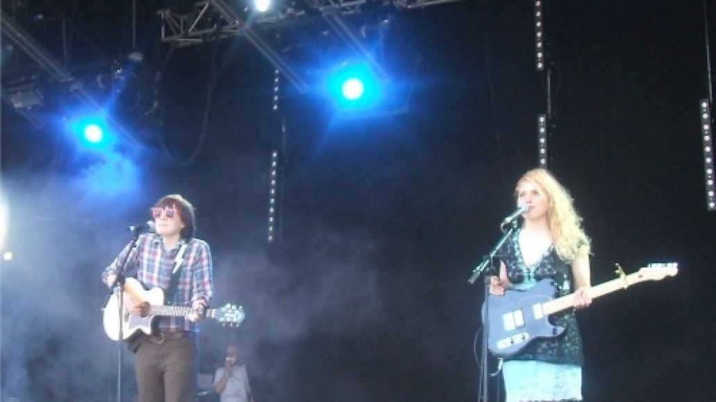 sea of bees Festival Review: CoS at Glastonbury 2011