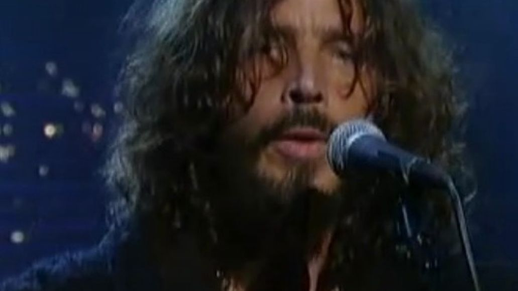 cornell letterman Video: Chris Cornell woos Letterman with The Keeper