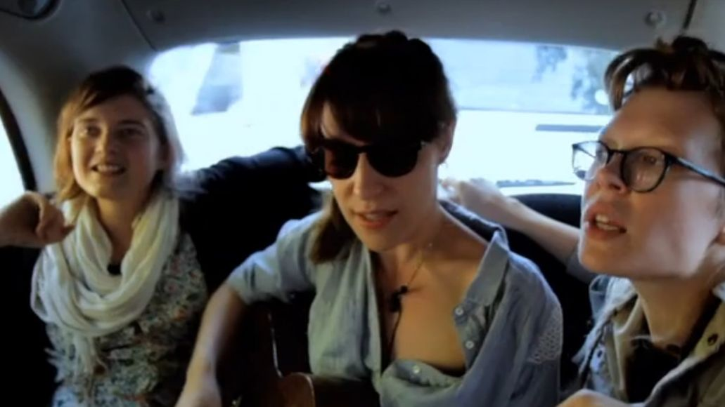 picture 2 e1319125977615 Video: Feist performs Undiscovered First on Black Cab Sessions