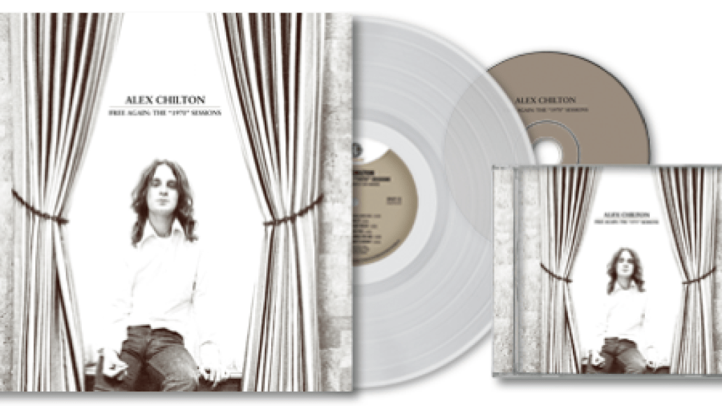 alex chilton page lp cover11 Alex Chilton solo recordings collected in Free Again: The 1970 Sessions