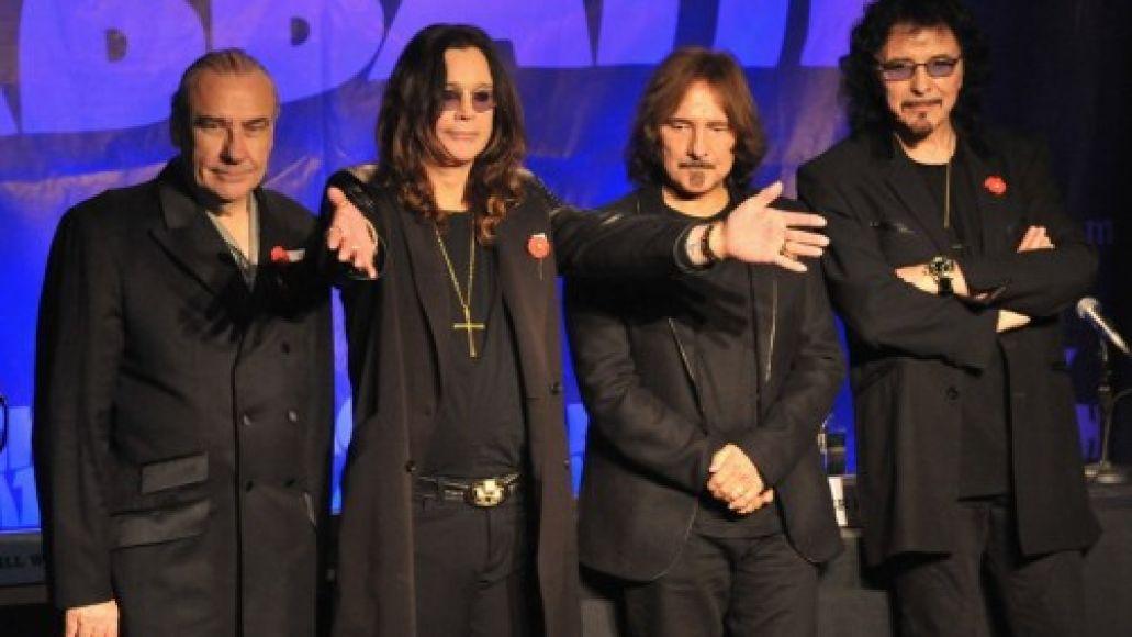 black sabbath Black Sabbath schedules European reunion tour dates