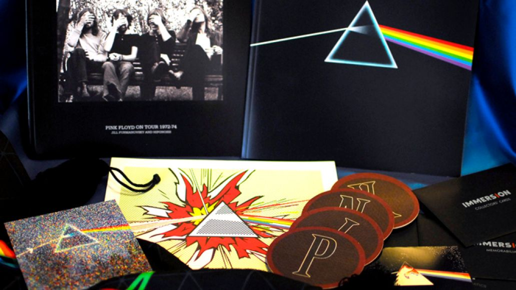 ds3 Whats in the Box!?: Pink Floyd   The Dark Side of the Moon Immersion Box Set