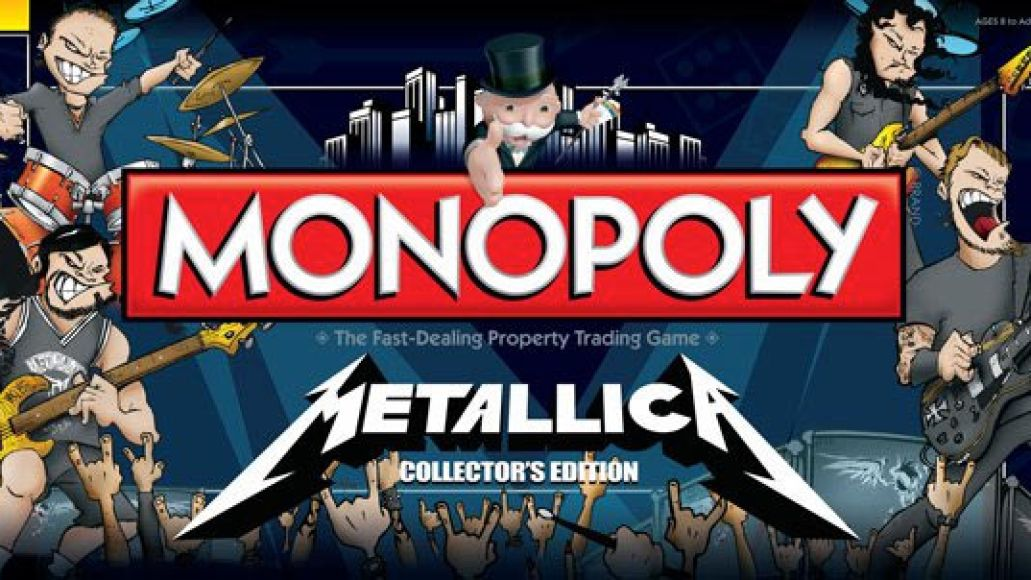 metallica monopolybigpic Top Stories of 2011