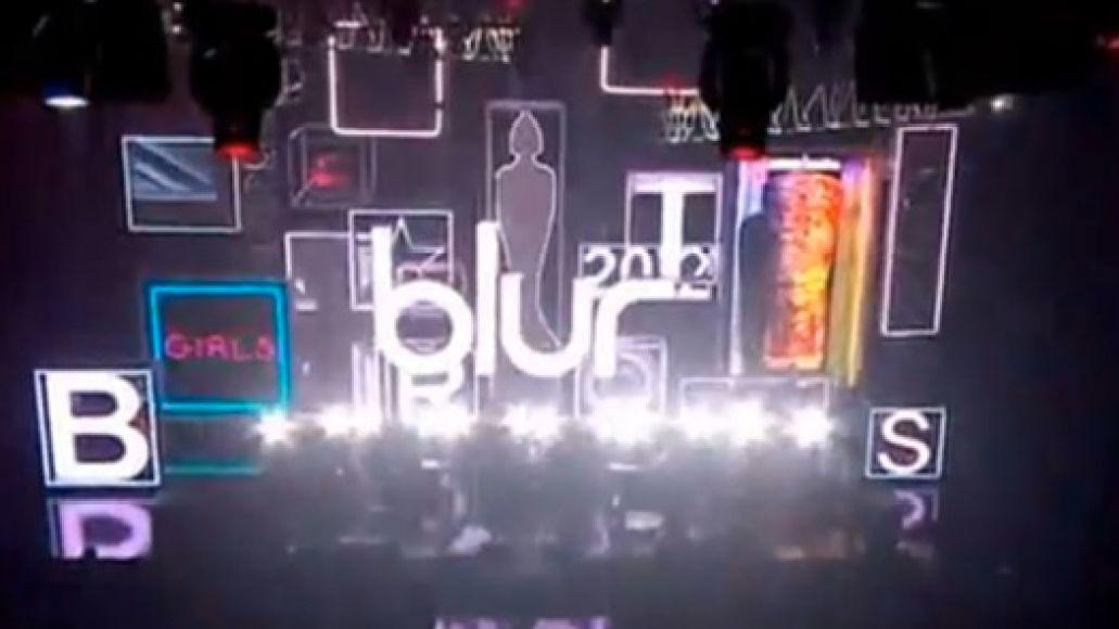 blur brits Video: Blur plays 2012 Brit Awards