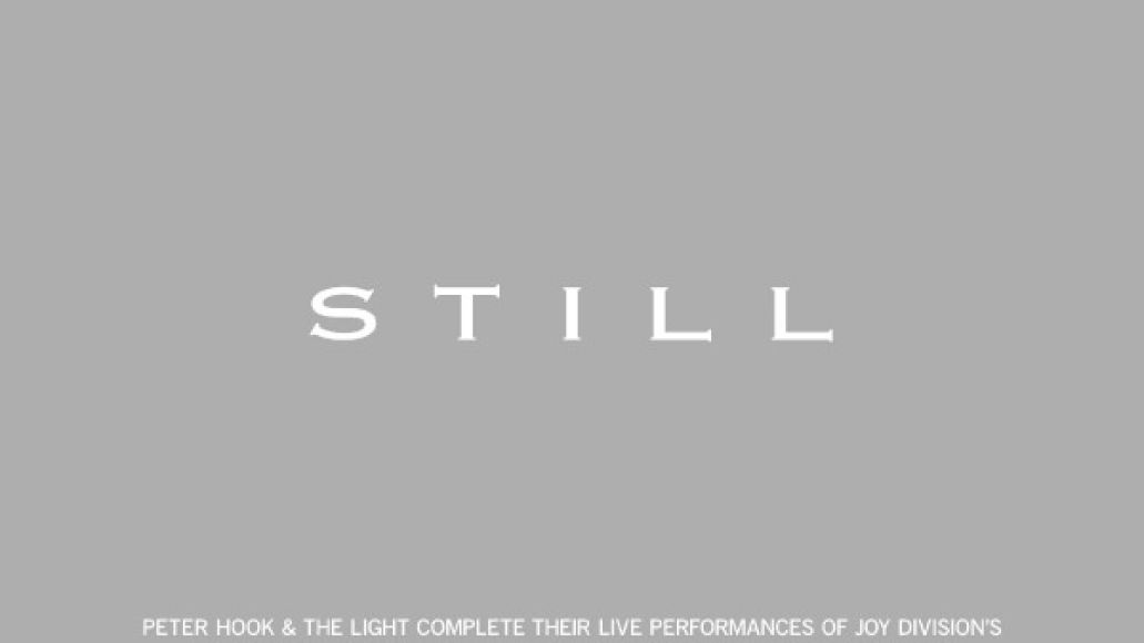 peter hook still poster Peter Hook and The Light to perform Joy Divisions Still