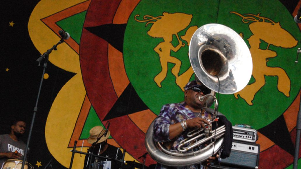 kirkbackyard Festival Review: CoS at New Orleans Jazz Fest 2012