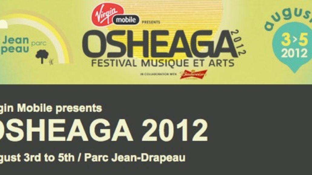 osheaga 20121 Osheaga 2012 adds The Jesus and Mary Chain, Common, Santigold