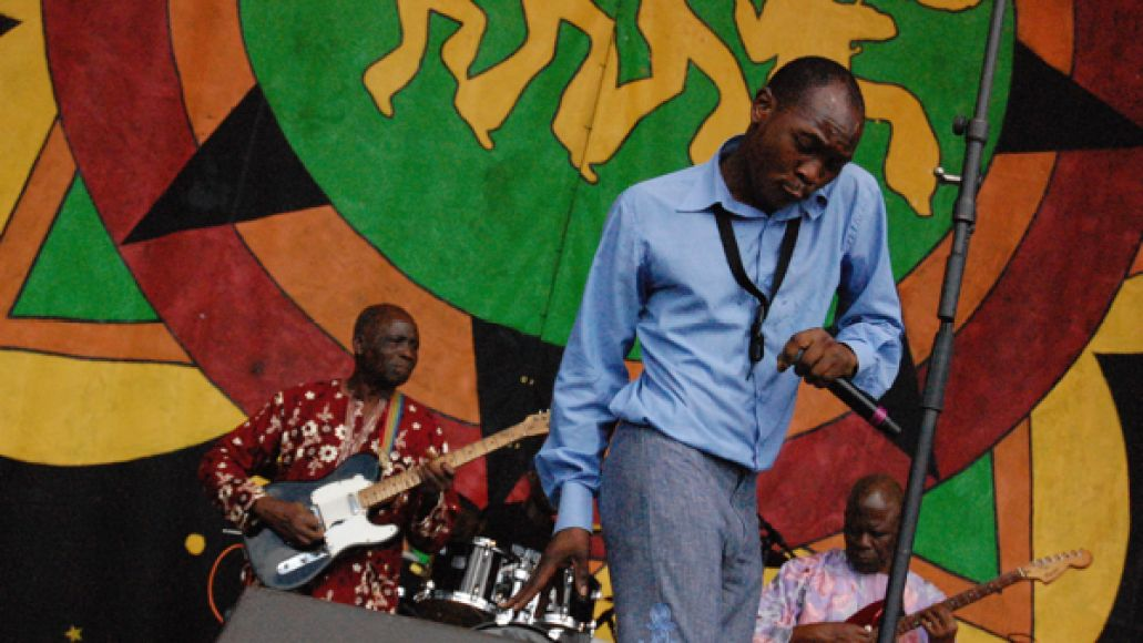 seunkuti2012 Festival Review: CoS at New Orleans Jazz Fest 2012