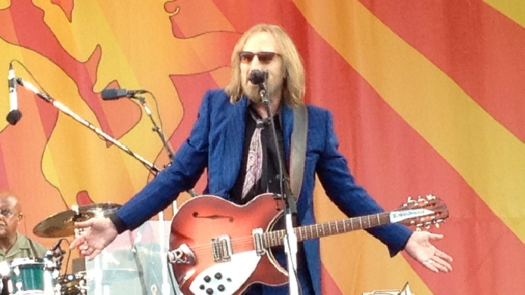 tompetty2012nola Festival Review: CoS at New Orleans Jazz Fest 2012
