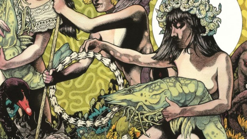 baroness art 2 626x626 Check Out: Baroness   Take My Bones Away
