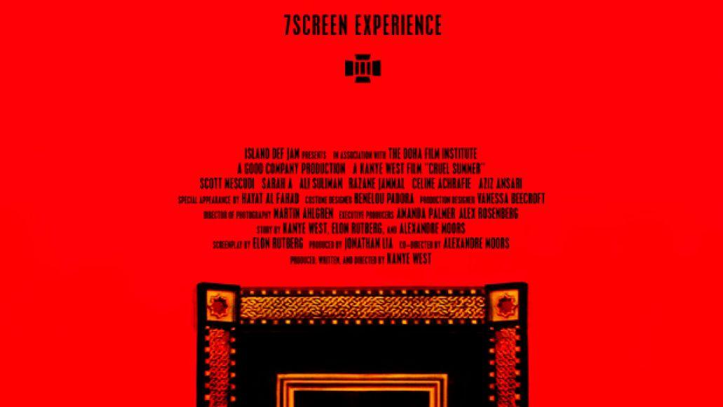 kanye west cruel summer Kanye Wests new short film Cruel Summer to debut at Cannes Film Festival