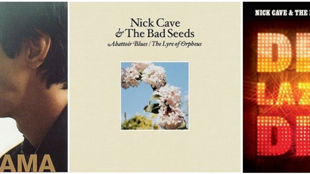 nick cave reissues Nick Cave and the Bad Seeds announce more reissues