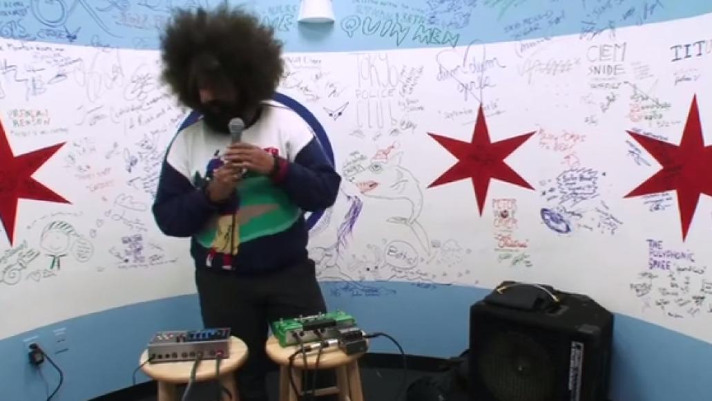 wattsvh main Video: Reggie Watts   Panama (Van Halen cover)