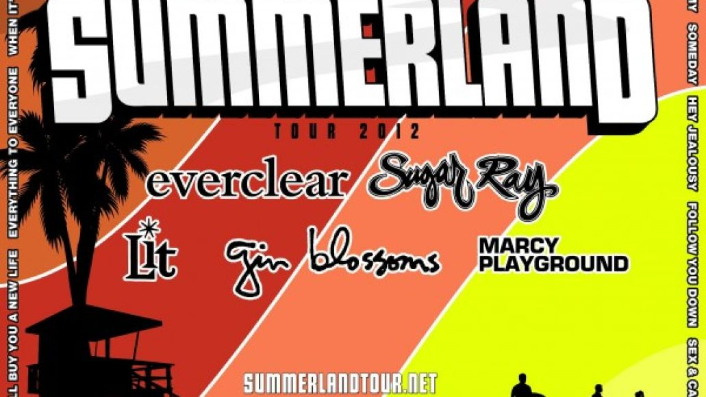 Live Review: Everclear, Sugar Ray, and the Summerland Tour at Holmdel, NJ (7/21)