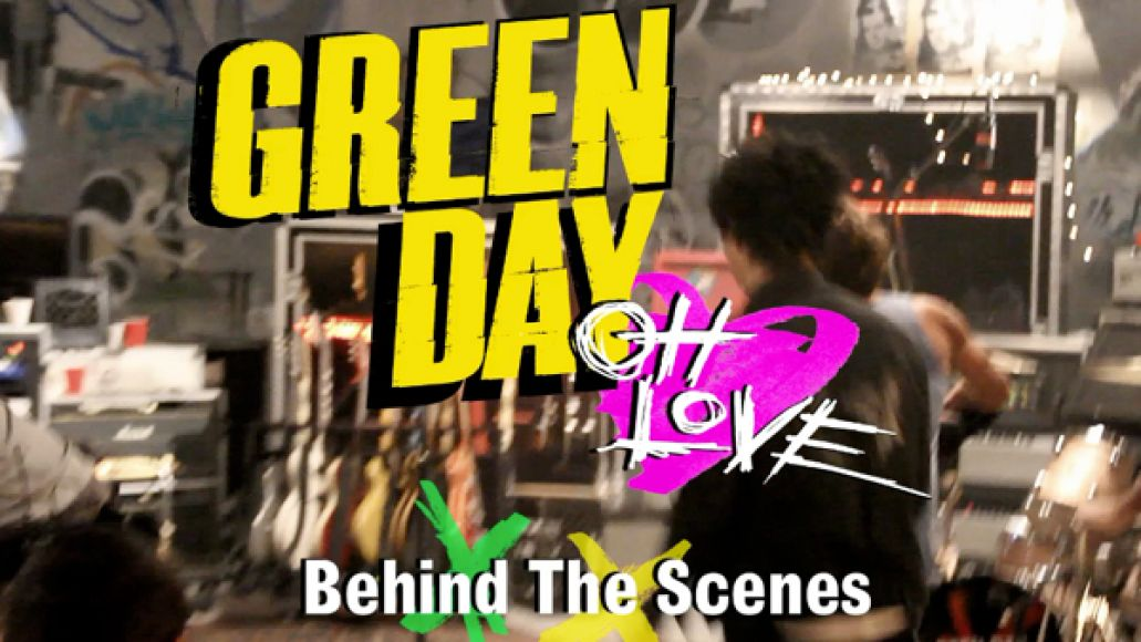 green day behind the scenes Behind the scenes of Green Days Oh Love video (CoS Premiere)