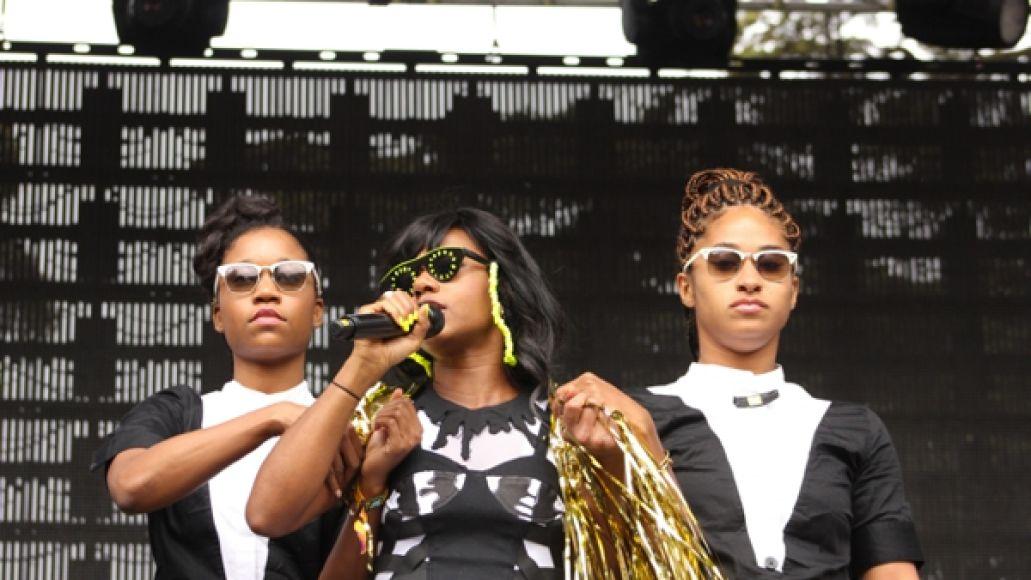 santigold6 Festival Review: CoS at Outside Lands 2012