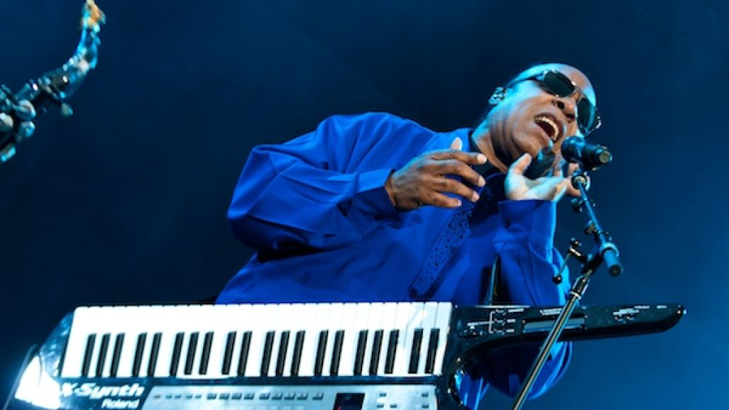 steviewonder2 Festival Review: CoS at Outside Lands 2012