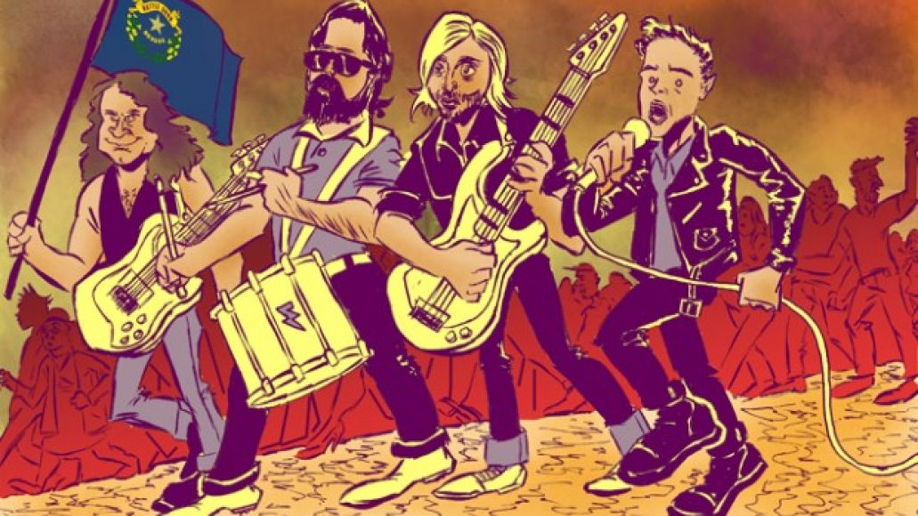 cos killers feature art feat size e1348036490939 Album Review: The Killers   Battle Born