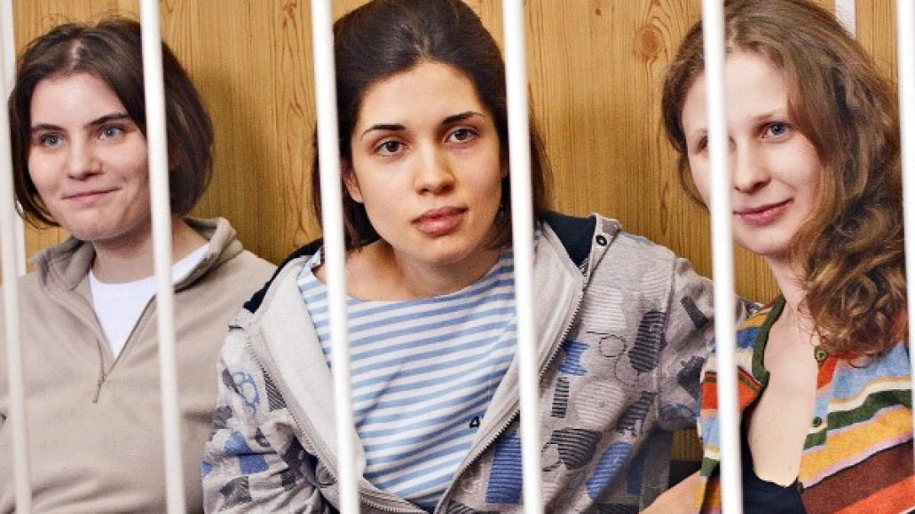 pussy riot e1345204931409 One Pussy Riot member freed, two others remain in prison