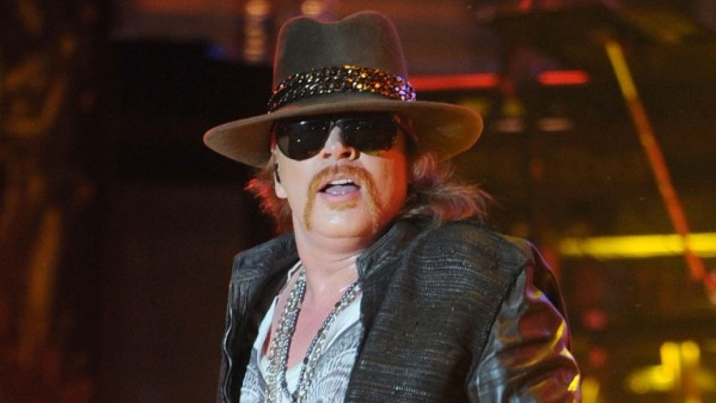 Axl Rose to appear on Jimmy Kimmel Live!