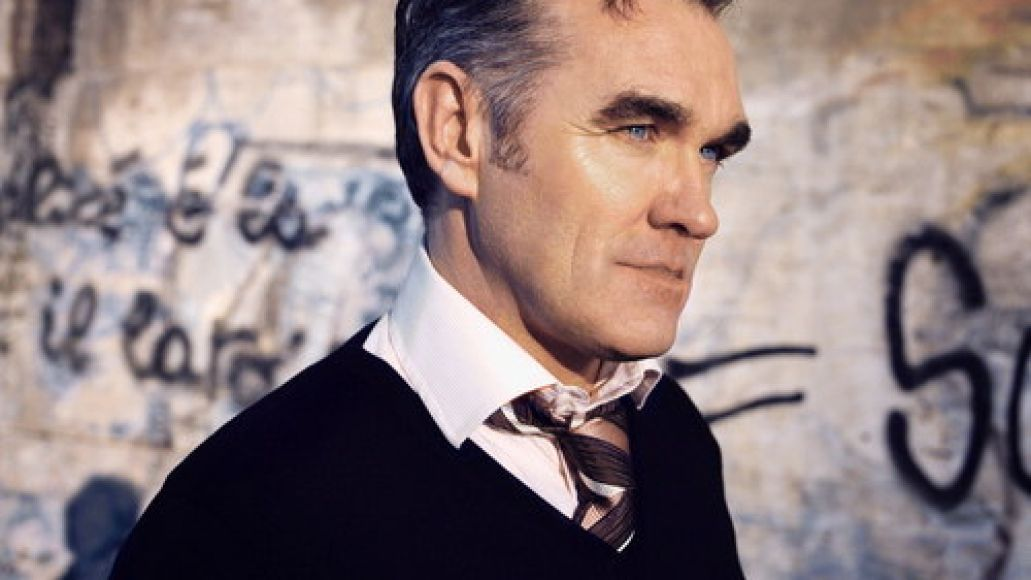 morrissey1 Morrissey reschedules tour dates, playing a high school