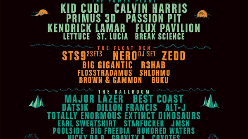 buku 2013 Kendrick Lamar, Earl Sweatshirt, Passion Pit to play BUKU Music + Art Project