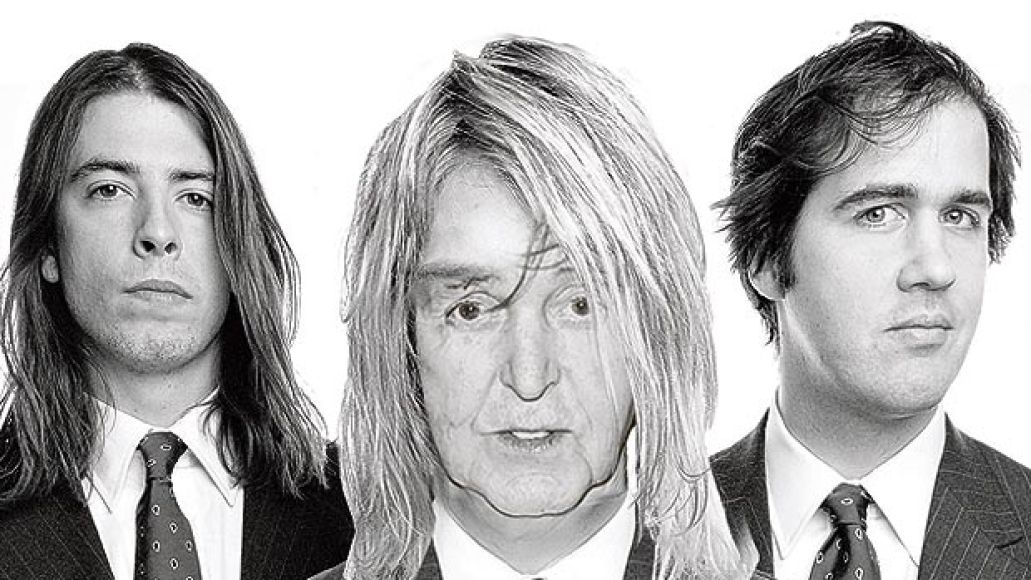 mccartney beatles Nirvana reunites with Paul McCartney, record new song Cut Me Some Slack