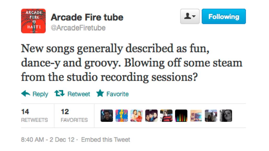 screen shot 2012 12 03 at 9 17 06 am Arcade Fire preview new music at secret show