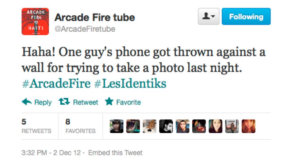 screen shot 2012 12 03 at 9 21 16 am Arcade Fire preview new music at secret show