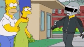 Daft Punk Simpsons