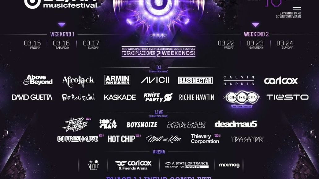 ultra 2013 lineup e1356747314965 Ultra Music Festival reveals phase one of 2013 lineup