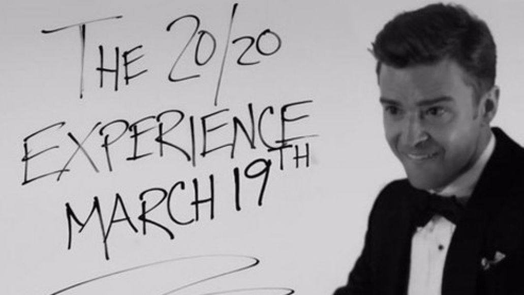 timberlake release date e1359045862158 Justin Timberlake to release new album The 20/20 Experience on March 19th