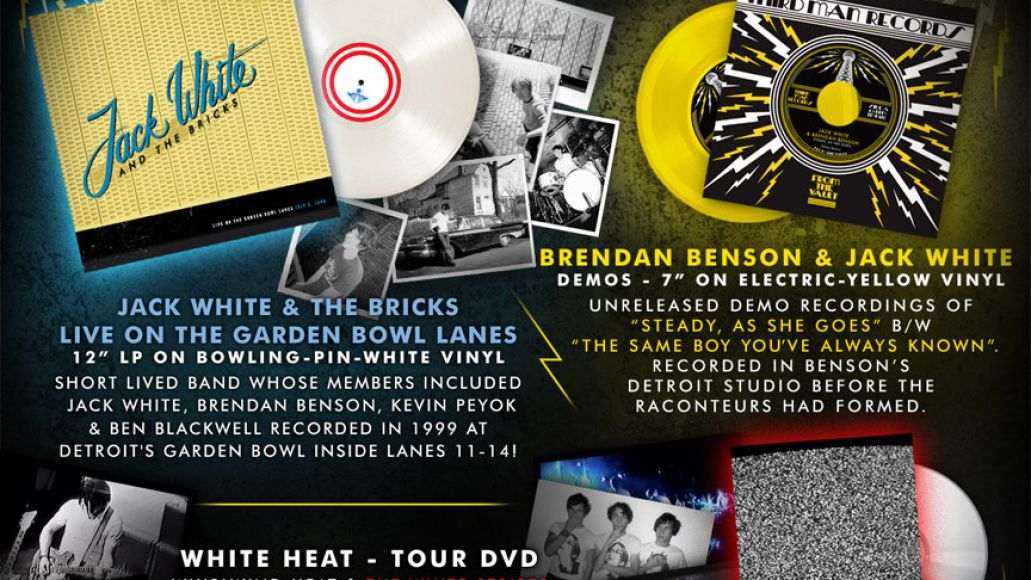 vault 15 jack white Jack White unearths early live album, demos for new Vault package