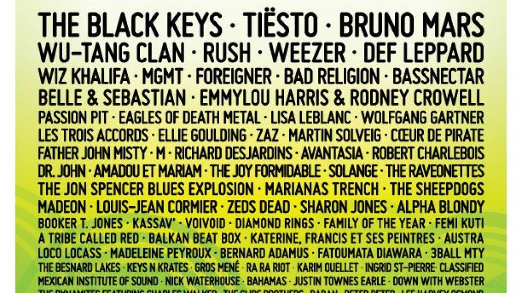quebec city 2013 lineup