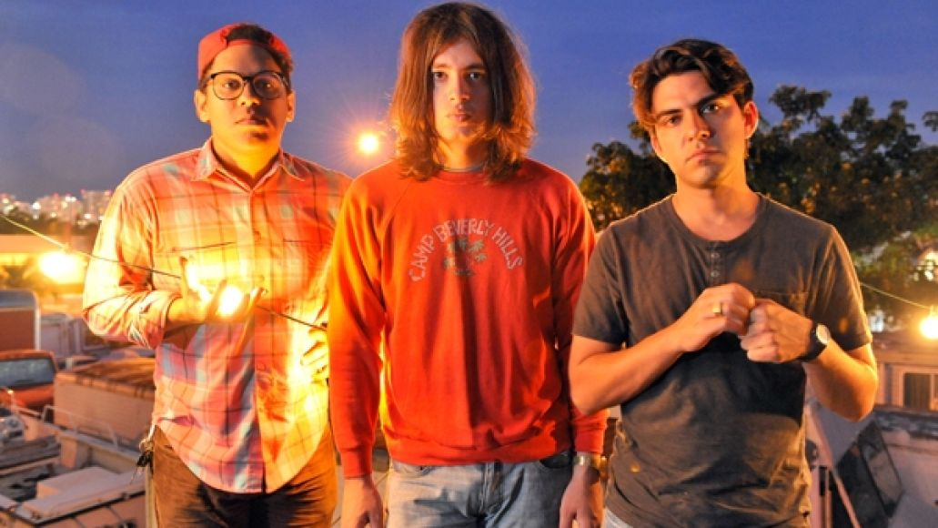 jacuzziboys Listen to Miami garage rockers Jacuzzi Boys stuttering new single, Double Vision