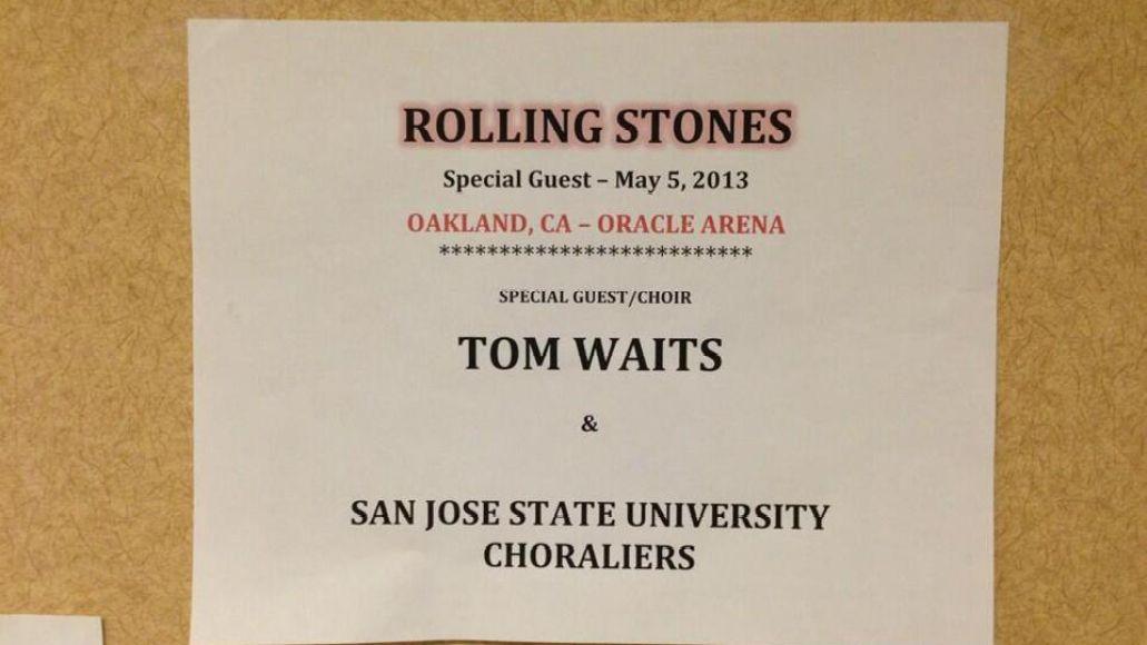 Stones Tom Waits
