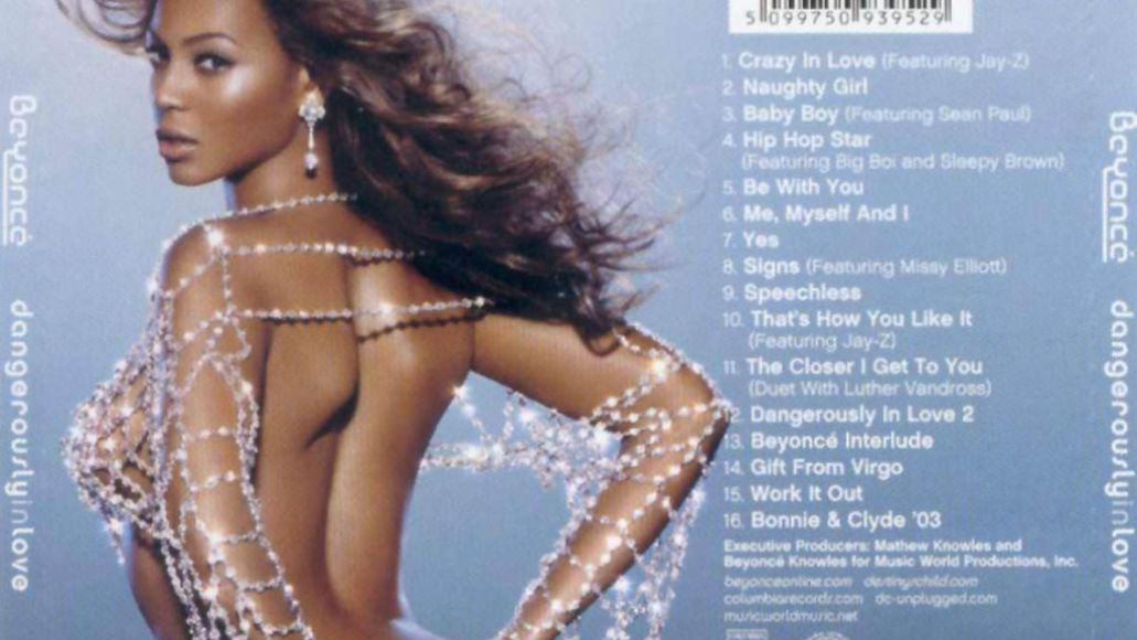 beyonce back cover