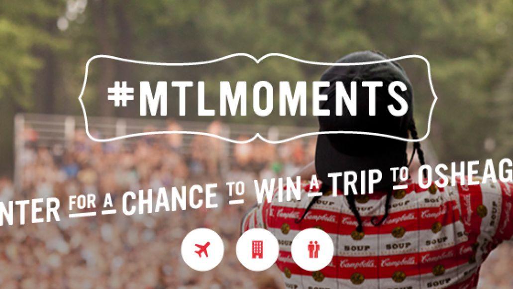 mtlmoments l 2 Win airfare, lodging, and VIP tickets to Montréals Osheaga Festival!