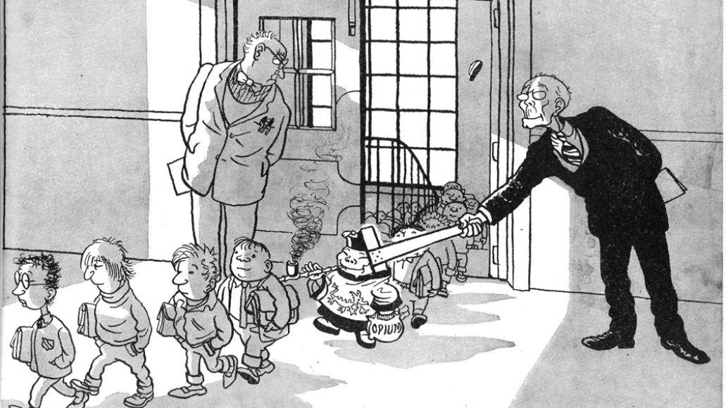 gilesstrip Jamie Hewlett chats Gorillaz, comics, and his favorite childhood toy
