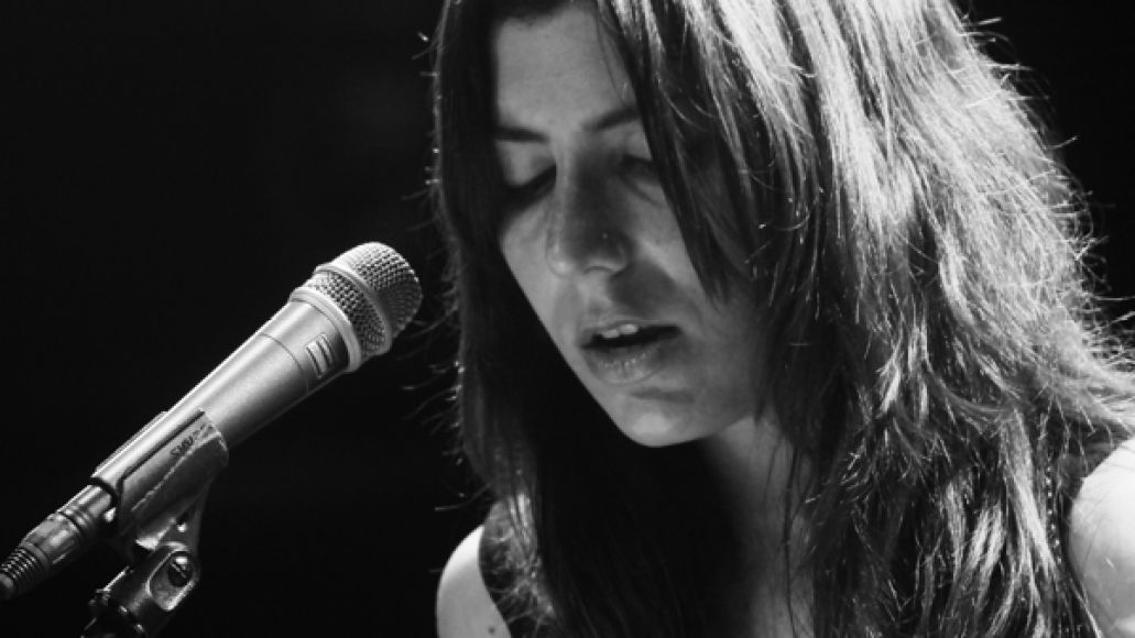 juliaholter5chin Live Review: Julia Holter at New York Citys (Le) Poisson Rouge (7/12)