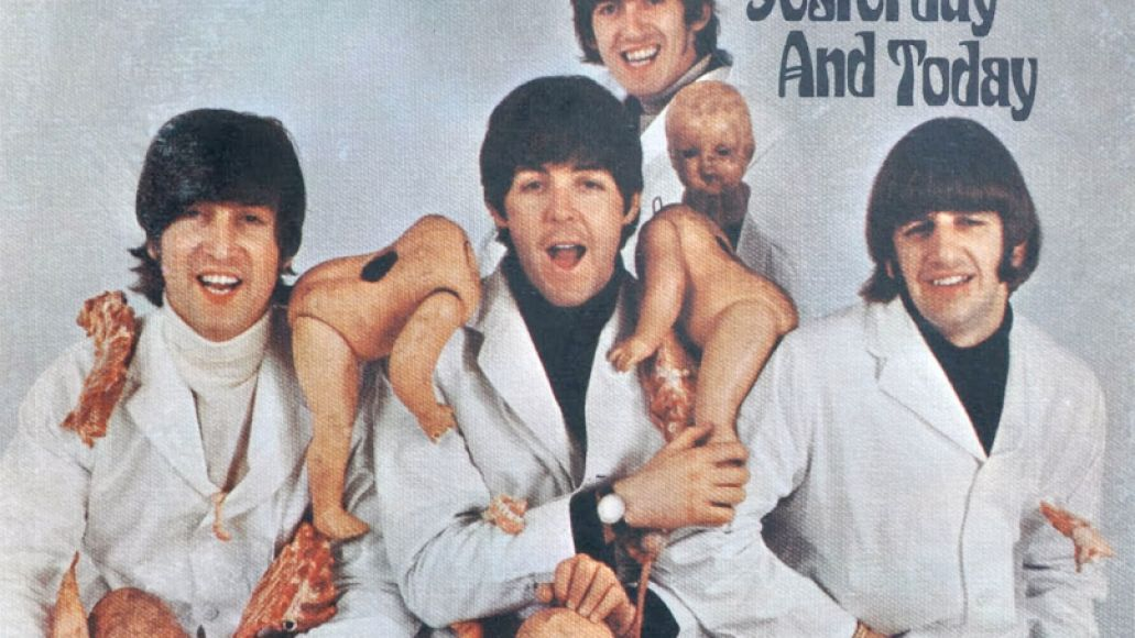 beatles yesterday today butcher The 50 Most Outrageous Album Covers