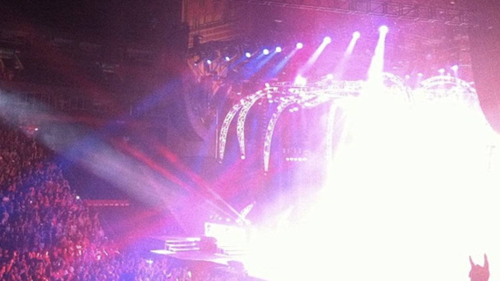 devilhorns #MTLMoments: KISS at the Bell Centre