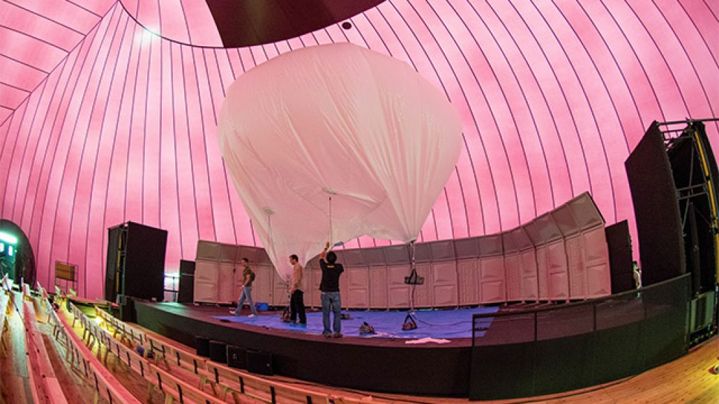arknova3 Japan invents worlds first inflatable concert hall